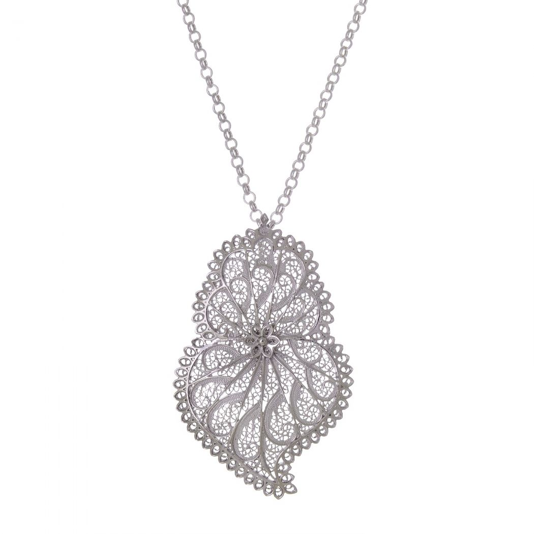 Necklace Heart of Viana Icone in Silver