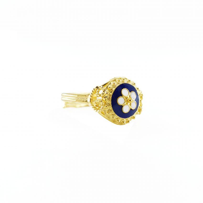 Ring Caramujo in 9kt Gold
