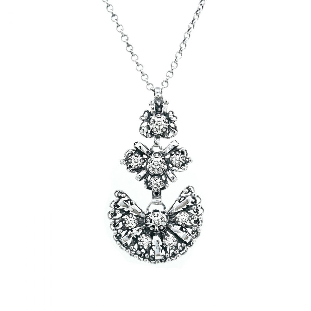Necklace Galego in Silver