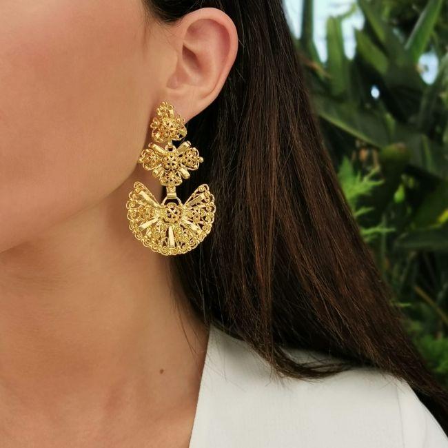 Galegos Earrings in Silver