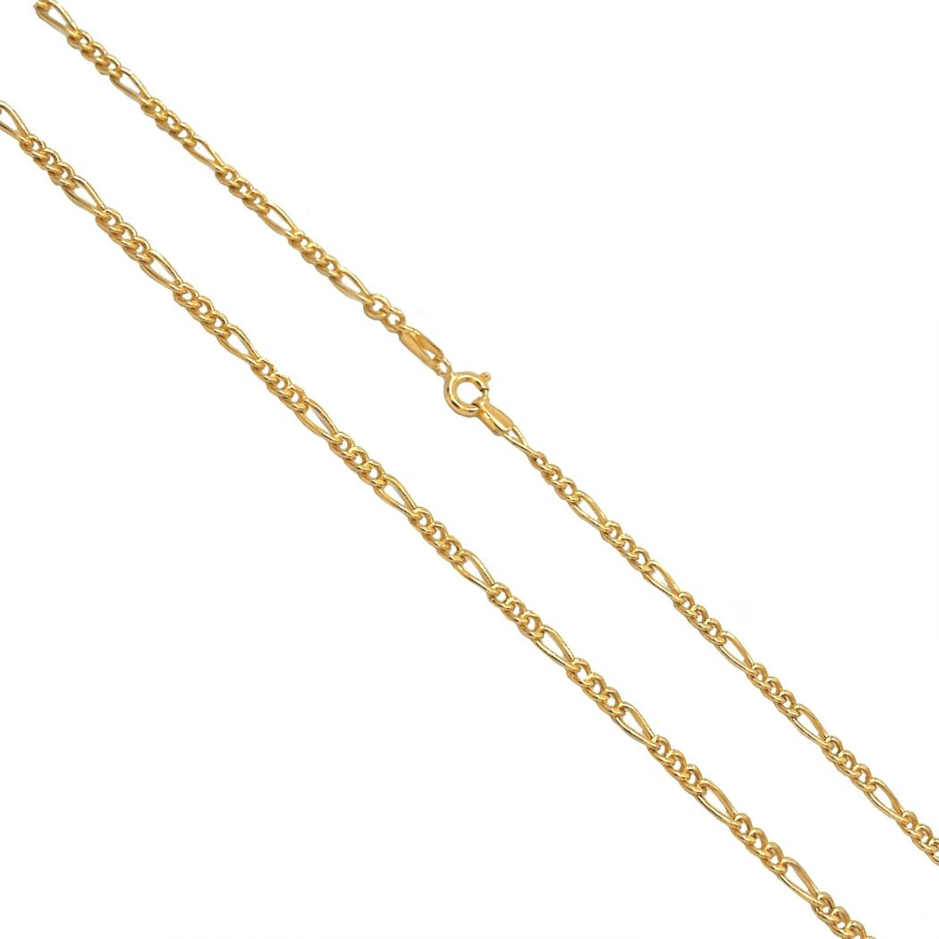 Necklace 3+1 in 19,2kt Gold